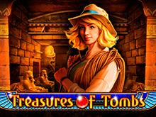 Играть в игровой слот Сокровища Гробницы в Фараон